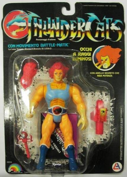 Thundercats - LJN - Lion-O (mint on card)