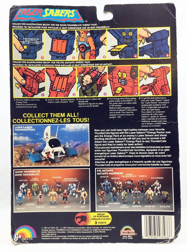 Thundercats - LJN (Grand Toys) - Laser Sabers - Enegy Pack (Orange Version)