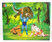 Thundercats - Puzzle MB 100 pieces - Panthro vs Mutants (ref.3417-22)