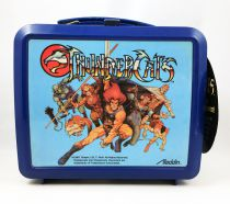 Thundercats (Cosmocats) - Aladdin - Promotional Plastic Lunch Box (w/Thermos & Audience Leeflet)