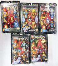 Thundercats (Cosmocats) - Art Asylum Minimates - Collection Complète de 5 Sets