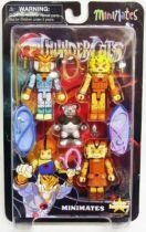 Thundercats (Cosmocats) - Art Asylum Minimates - Tygra, Cheetara, Wilykit, Wilykat, Ro-Bear Berbil Bill
