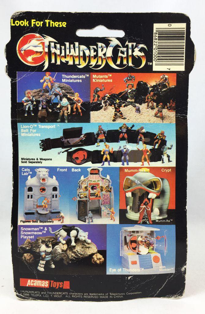 Thundercats (Cosmocats) - Kidworks (Acamas Toys) Miniatures - Monkian / Gorior (neuve sous blister)