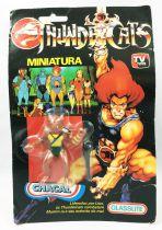 Thundercats (Cosmocats) - Kidworks (Glasslite) Miniatures - Jackalman / Chacal (neuve sous blister)