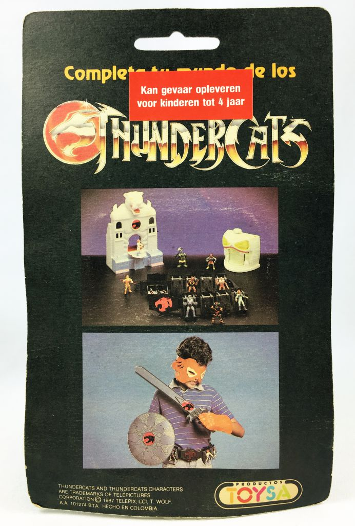 Thundercats (Cosmocats) - Kidworks (Toysa) Miniatures - Cheetara / Félibelle (neuve sous blister)