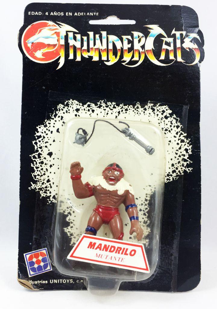 Thundercats (Cosmocats) - Kidworks (Unitoys) Miniatures - Monkian / Mandrilo (neuve sous blister)