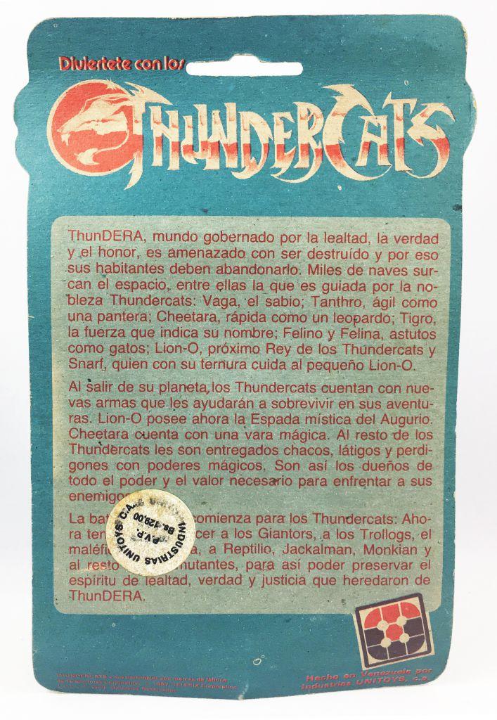 Thundercats (Cosmocats) - Kidworks (Unitoys) Miniatures - Tuska Warrior (neuve sous blister)