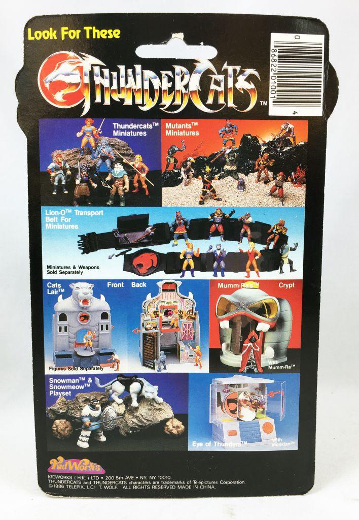 Thundercats (Cosmocats) - Kidworks Miniatures - Cheetara / Félibelle (neuve sous blister)