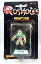 Thundercats (Cosmocats) - Kidworks Miniatures - Tuska Warrior (mint on card)