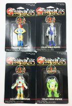 Thundercats (Cosmocats) - Spindex - Figurines Gomme - Lion-O, Mumm-Ra, Panthro, Ssslithe (neuves sous blister)