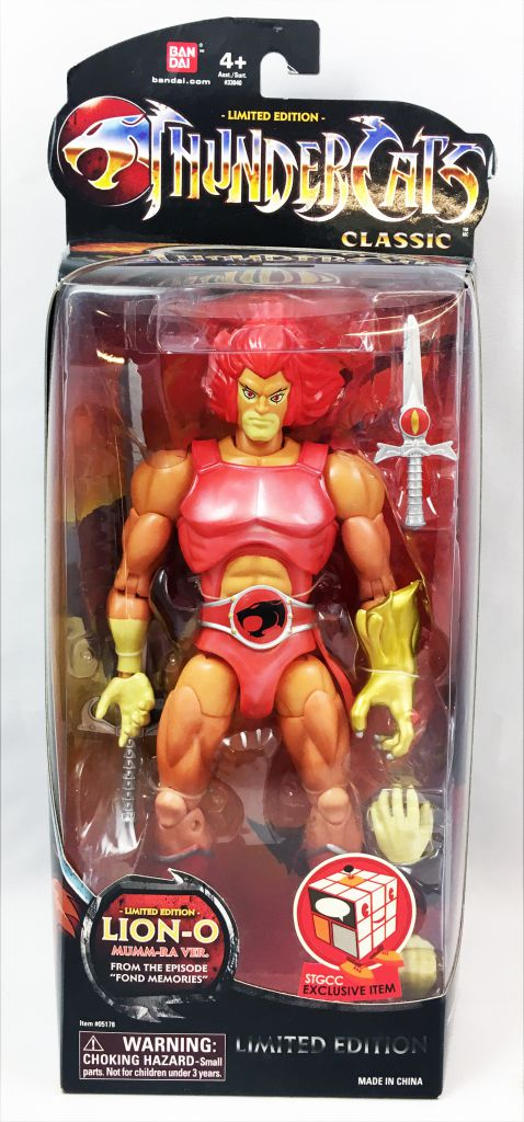 ThunderCats Classic - Bandai - Lion-O \'\'Mumm-Ra version\'\' (Limited Edition)
