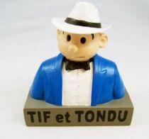 Tif et Tondu - Buste Résine 13cm Dupuis - Tif