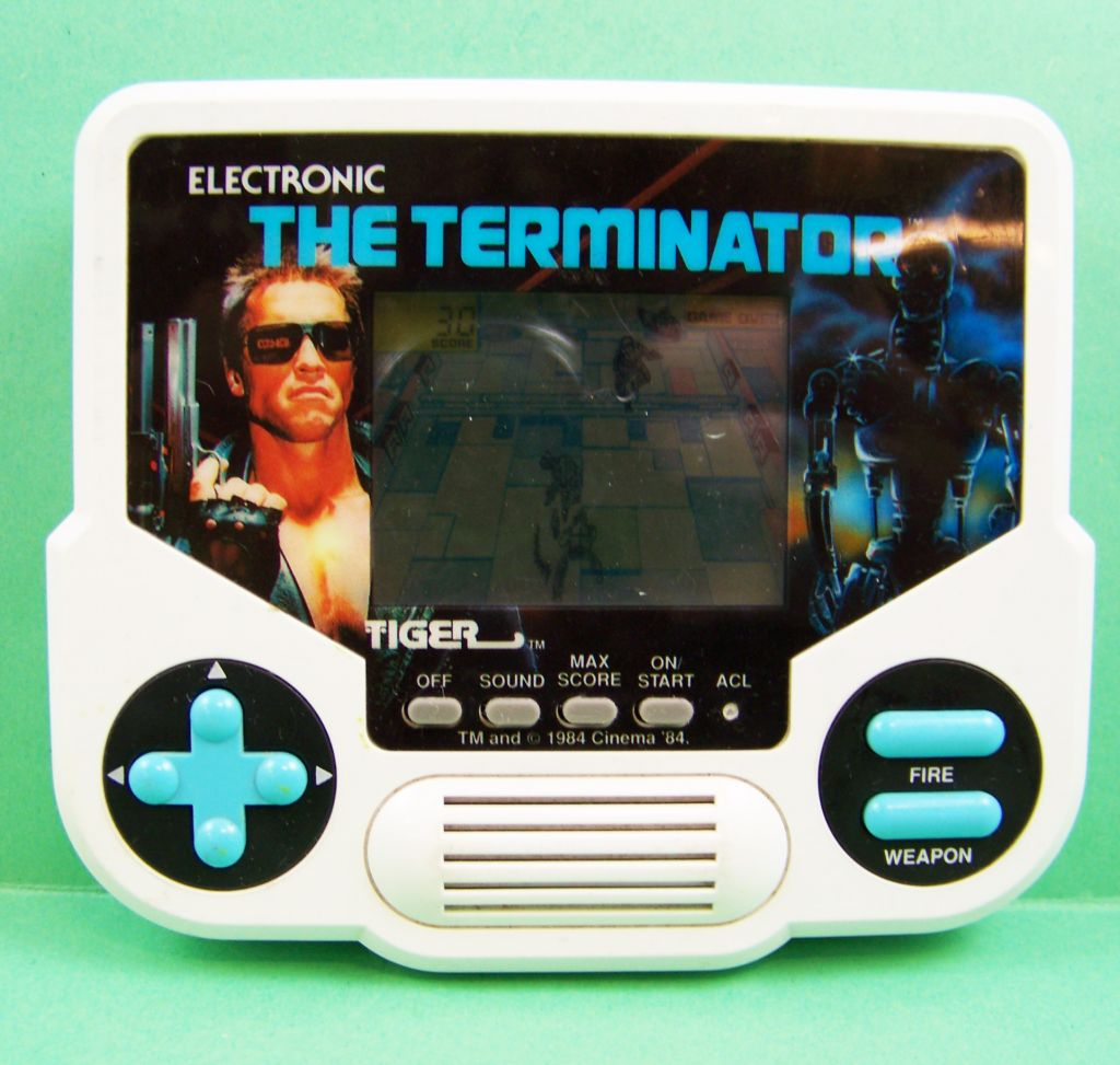 tiger electronic - handheld game - the terminator