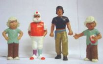 Time Masters (Moebius) - Schleich - Set of  4 PVC Figures