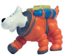 Tintin -  Pvc figure LU (1993) - Explorers of the moon Snowy