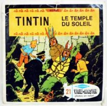 Tintin  - Set of 3 discs View Master 3-D - The Temple of the Sun