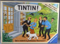 Tintin - Board game - Who kidnapped the professor Calculus ? - Ravensburger Version 2
