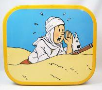 Tintin - Boite à gâteaux carrée Delacre - Tintin et le Crabe aux Pinces d\'Or