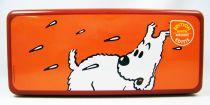 Tintin - Boite à gâteaux rectangulaire Delacre - Milou