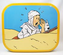 Tintin - Delacre Tin Cookie Box (Square) - The Crab with the Golden Claws