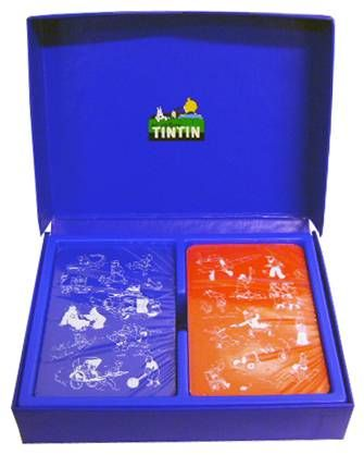 Tintin - Double-Deck Card Game - Hergé-Moulinsart / Editions Atlas 2001