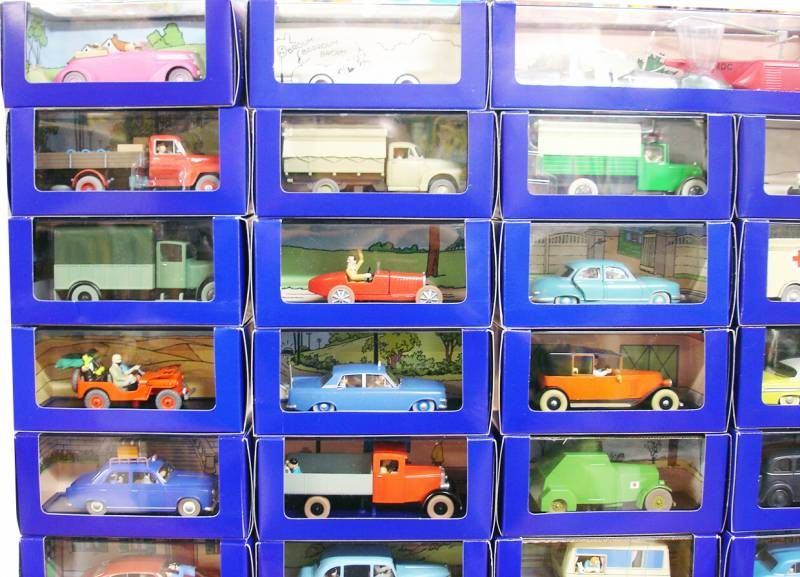 Tintin - Editions Atlas - Complete collection of 70 Tintin cars