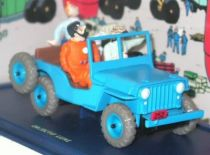 Tintin - Editions Atlas - N° 01 Mint in box blue Jeep Willys from Destination Moon