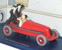 Tintin - Editions Atlas - N° 02 Mint in box red race car  from The Pharao\'s cigars