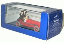 Tintin - Editions Atlas - N° 02 Mint in box red race car  from The Pharao\\\'s cigars