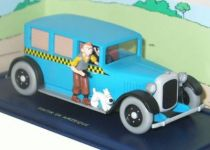 Tintin - Editions Atlas - N° 04 Mint in box blue Taxi from Tintin in America
