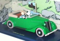 Tintin - Editions Atlas - N� 08 Mint in box green armored car from The broken hear