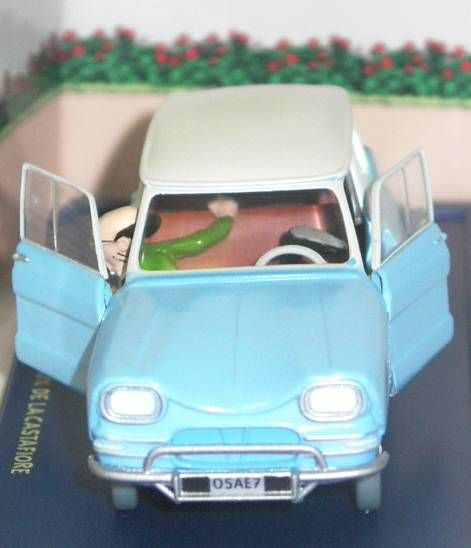Tintin - Editions Atlas - N° 14 Mint in box Citroen Ami 6 from The Castafiore emerald