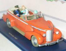 Tintin - Editions Atlas - N° 15 Mint in box New-Delhi Cab from Tintin inTibet