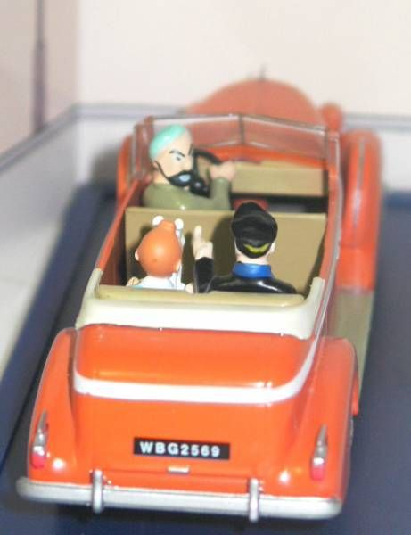 Tintin - Editions Atlas - N° 15 Mint in box New-Delhi Cab from Tintin inTibet