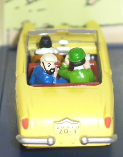 Tintin - Editions Atlas - N° 16 Mint in box Borduran car from The Calculus affair