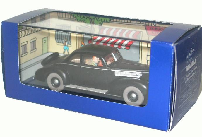 Tintin - Editions Atlas - N° 18 Mint in box King Muskar\'s Packard from King Ottokar\'s sceptre