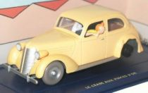 Tintin - Editions Atlas - N° 23 Mint in box accidented car from The crab with the golden claws