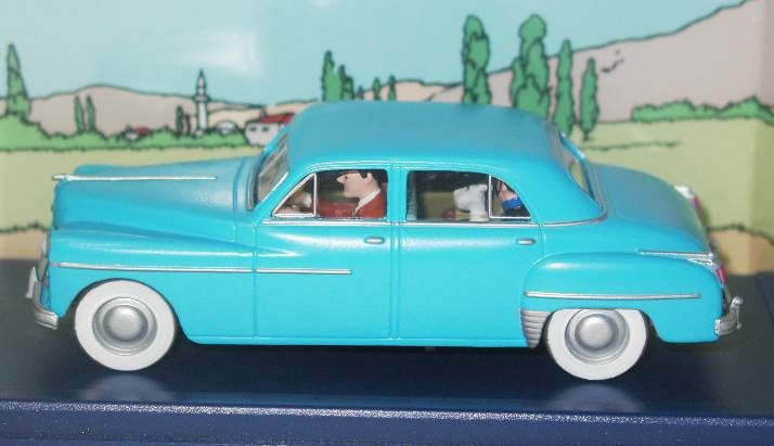 Tintin - Editions Atlas - N° 30 Mint in box blue Dodge from Destination Moon