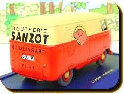 Tintin - Editions Atlas - N° 32 Mint in box Combi Van VWf rom The Calcilus Affair