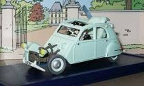 Tintin - Editions Atlas - N� 33 Mint in box accidented Citroen 2CV6 from The Castafiore emerald