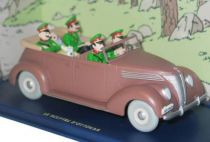 Tintin - Editions Atlas - N� 34 Mint in box Convertible Ford V8 from King Ottokar\'s sceptre