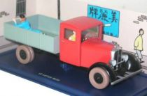 Tintin - Editions Atlas - N° 36 Mint in box red truck from The blue lotus