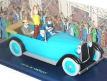 Tintin - Editions Atlas - N° 39 Mint in box Chicago\'s celebration car from Tintin in America
