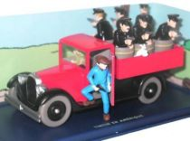 Tintin - Editions Atlas - N� 41 Mint in box Police ambush truck from Tintin in America