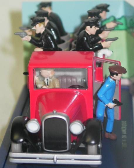 Tintin - Editions Atlas - N° 41 Mint in box Police ambush truck from Tintin in America