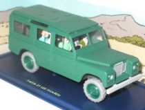 Tintin - Editions Atlas - N° 43 Mint in box General Tapioca\\\'s Land Rover from Tintin and the Picaros