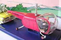 Tintin - Editions Atlas - N� 48 Mint in box Red Copter from The Calculus affair