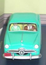 Tintin - Editions Atlas - N° 49 Mint in box Blue Ford from Destination Moon
