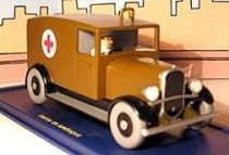 Tintin - Editions Atlas - N� 51 Mint in box Chicago ambulance from Tintin in America