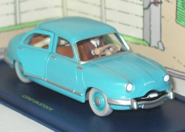 Tintin - Editions Atlas - N° 55 Mint in box Panhard Taxi car from Coke in Stock